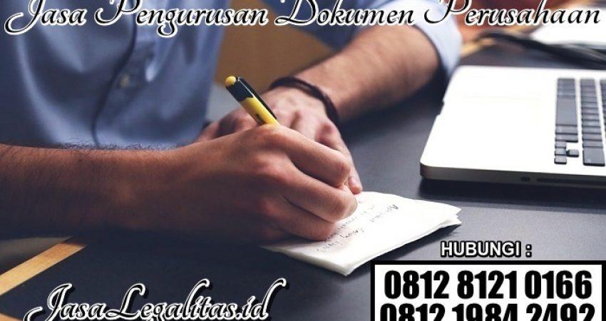 Jasa Pengurusan Dokumen Perusahaan